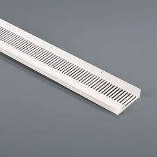 continuous soffit vent x 2 44m 10mm air gap harcon sv10 roofing