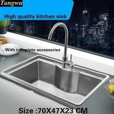High Quality Kitchen Sinks Kitchen Sink Price Cheap Metal Sink Stainless Steel Inset Sink