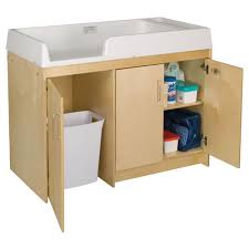 Day Care Changing Table Birch Infant Changing Table