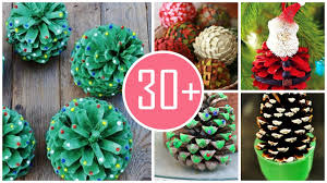 2015 christmas pinecone crafts ideas from everbeever loveitsomuch