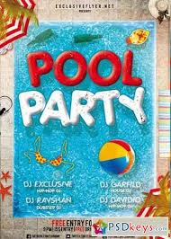 pool party flyer template summer pool party flyer template summer