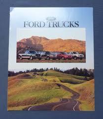 1997 1996 ford trucks dealer sales brochure f 150 original