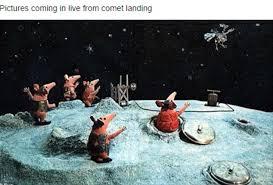 Memes Landing - twitter users poke fun at rosetta comet landing daily mail online