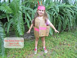 american indian thanksgiving recipes kids native american vest craft mom it forwardmom it forward