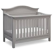 Grey Convertible Cribs Serta Bethpage 4 In 1 Convertible Crib In Grey Buybuy Baby