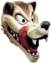deluxe big bad wolf mask costume craze
