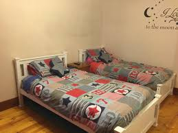 White King Single Bedroom Suite Kids White Wooden Bed Frame King Single Crazy Sales