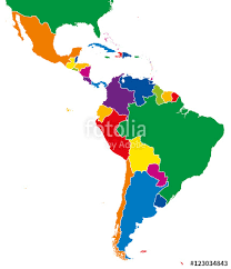 map of mexico south america america single states map all countries in different