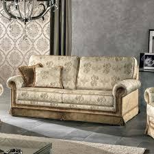 canapé fabriqué en canapé 3 places de style classique en tissu maxim fait en italie