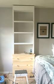 built ins in the master bedroom with an ikea hack simply swider