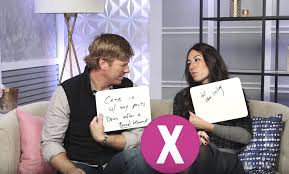 chip joanna gaines fixer upper couple play newlywed game chip joanna gaines