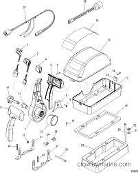 mercury quicksilver controls parts diagram 40 hp johnson outboard