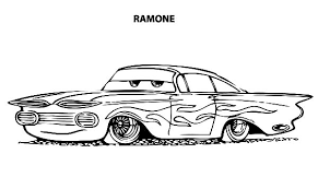 disney cars ramone lowrider cars coloring pages download u0026 print