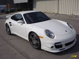 white porsche 911 2008 porsche 911 turbo coupe in carrara white 784207 auto