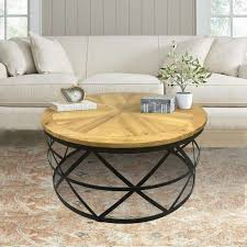 reclaimed wood round coffee table 20 the best round coffee tables