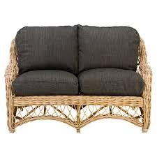 indoor rattan sofa eden braided rattan sofa rattan sofa 2 places
