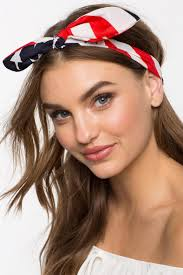 tie headbands women s headbands americana tie front headband a gaci