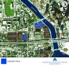 Riverwalk Map Lafayette Place Press Release