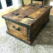 storage trunk coffee table coffee table storage chest peekapp co