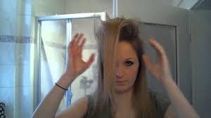 Frisuren Lange Haare Toupiert by Hair Tutorial Richtig Toupieren So Klappt S Bei Mir