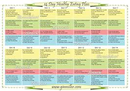 healthy meal plan free healthy meal planning template plus free
