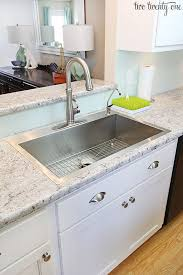 Farm Sink With Backsplash by Best 25 Stainless Steel Kitchen Sinks Ideas On Pinterest