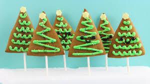 how to make christmas tree cookies youtube