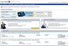 United Airlines Checked Baggage Fee by 97 137 Houston To Florida U0026 East Coast Nonstop R T Fly