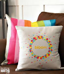 How To Make Sofa Pillow Covers Easy Envelope Pillow Cover From A Drop Cloth Becoming Martha