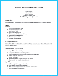 Dental Hygiene Resume Samples by Account Receivable Resume Shows Both Technical And Interpersonal