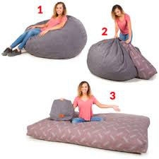 Bean Bed Cordaroy U0027s Convertible Bean Bag Chair U0026 Full Size Bed