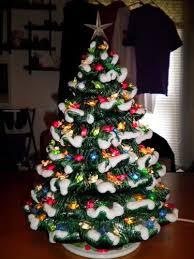 ceramic christmas trees 177 best ceramic christmas trees images on christmas