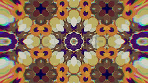 abstract colorful painted kaleidoscopic graphic background