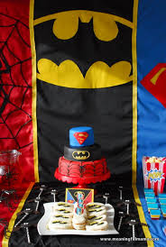superhero party food ideas