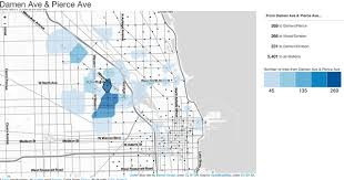 divvy chicago map what does bike data tell us about chicago chicago