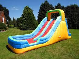 bebop splash mountain giant inflatable garden water slide for kids