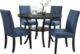 roundhill furniture biony espresso 5 piece dining set u0026 reviews