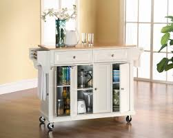 kitchen carts kitchen island cart big lots cart white with wood