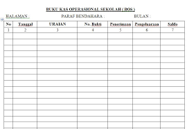 format buku jurnal penerimaan kas download contoh buku kas untuk pengelolaan dana bantuan operasional