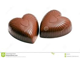 chocolate heart candy heart shaped chocolate candy stock image image of heart