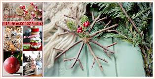 Christmas Decorations You Can Make At Home - 15 minute diy christmas ornaments the 36th avenue