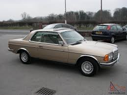 mercedes w123 coupe for sale 1985 mercedes 280ce w123 pillarless coupe