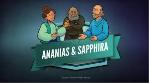 acts 5 ananias and sapphira sunday coloring pages sunday