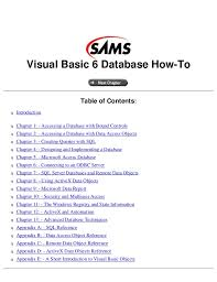 visual basic advanced tutorial visual basic 6 tutorial guide book online