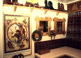 ideas for bathroom decorations extraordinary cowboy bathroom decor ideas for western bathrooms