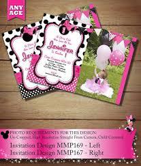 21 best white u0026 black polka dot minnie mouse invitations u0026 party