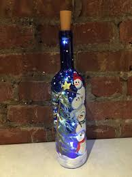 stacking snowmen wine bottle with lights fri dec 22 8pm at
