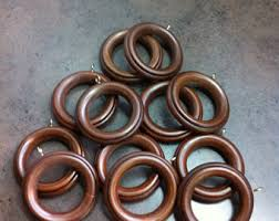 Wrought Iron Curtain Rings Curtain Rings Etsy