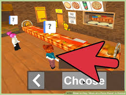 5 ways to play work at a pizza place in roblox wikihow