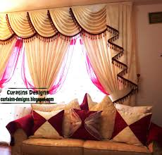Swag Curtains For Living Room by Living Room Curtains Indian Drapes Curtain Design For Living